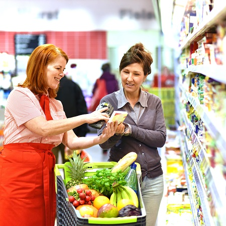 Fleischlos einkaufen im Supermarkt