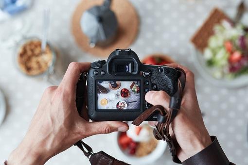 fotoshooting von vegetarischen produkten