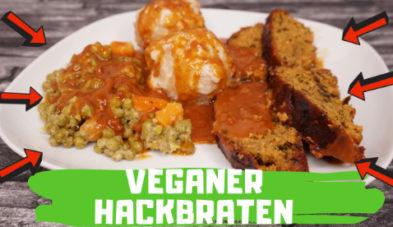 veganer Hackbraten Rezept YouTube