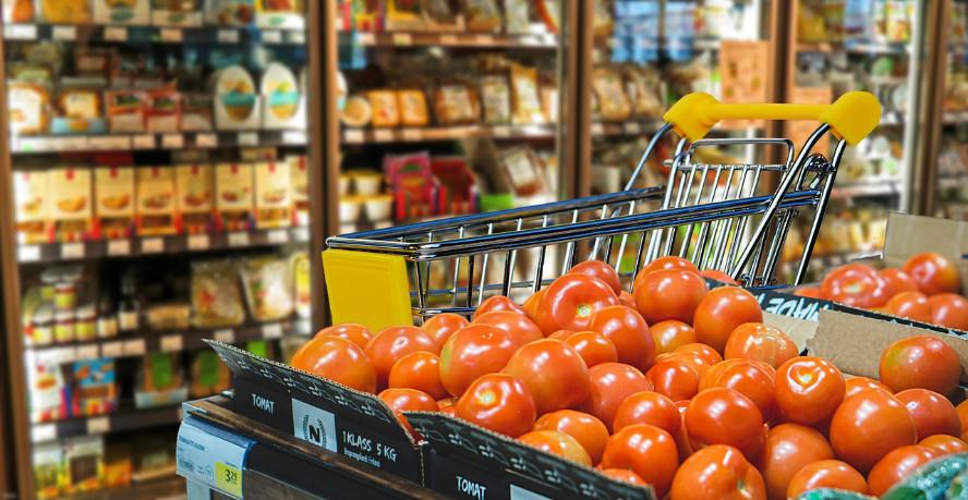 Lebensmittel Supermarkt vegan