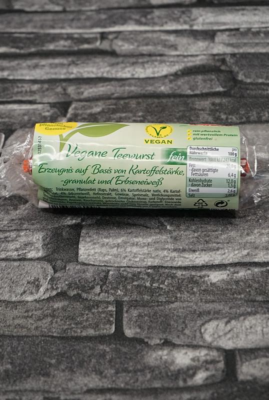Windau vegane Teewurst im Test