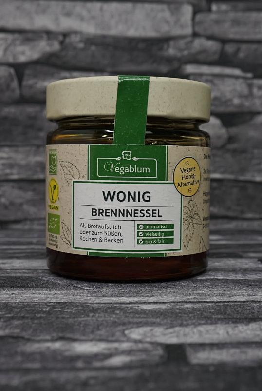 Brennesel Wonig veganer Honig