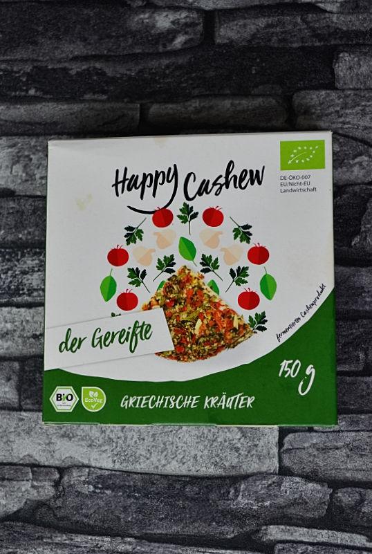 Happy cashew der gereifte veganer Käse