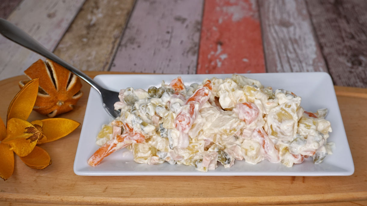 veganer schlesischer kartoffelsalat