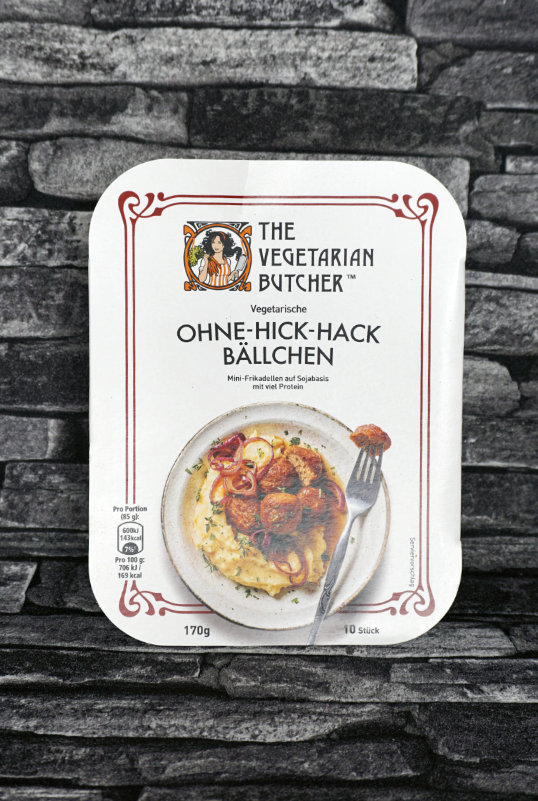 The Vegetarian Butcher ohne Hick Hack Bällchen