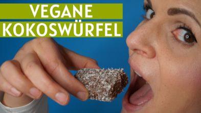 vegane Kokuswürfel Rezept