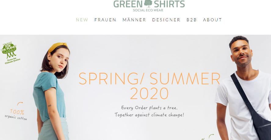 Green Shirts Onlineshop