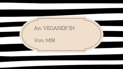 Geschenkideen für Veganer