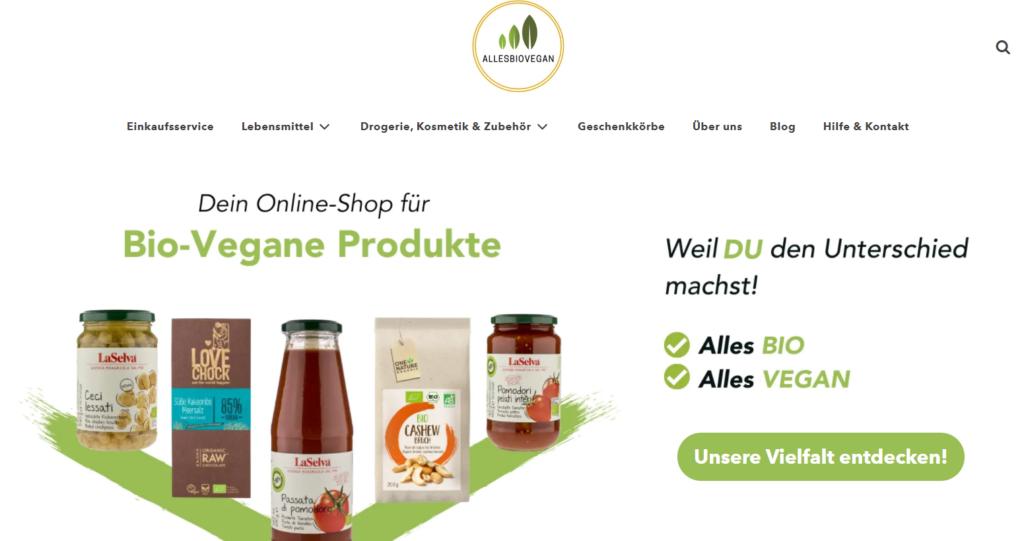 vegane Produkte kaufen Bezugsquellen