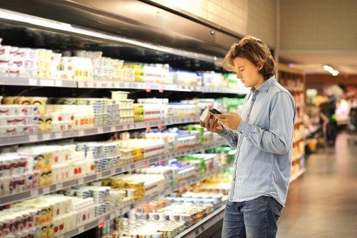 Vegane Produkte im Supermarkt finden